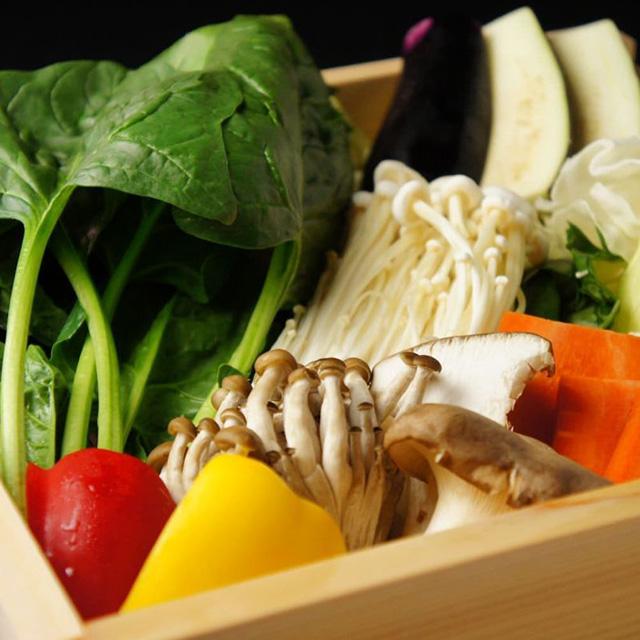 季節野菜せいろ蒸し