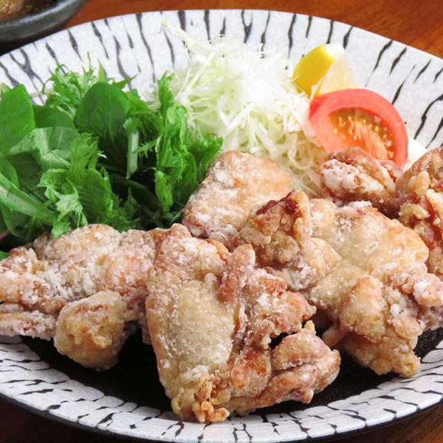 鳥唐揚げ おろしポン酢膳